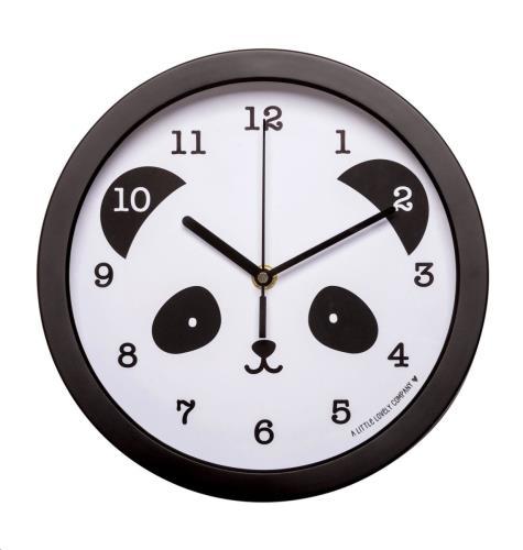 A little lovely company - Clock: Panda