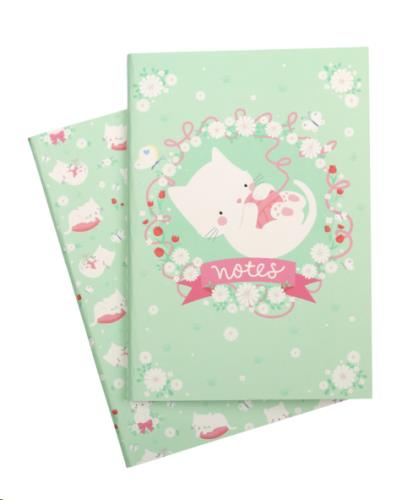 A Little Lovely Company - A5 notebooks: Cat