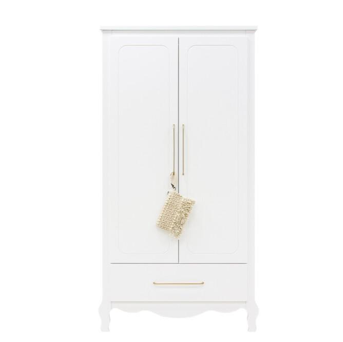 Bopita - 2-deurskast XL met lade Elena Wit