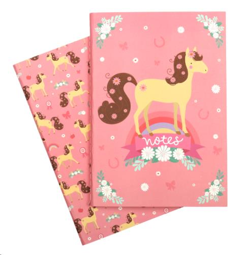 A little lovely company - A5 Notebooks: Horse