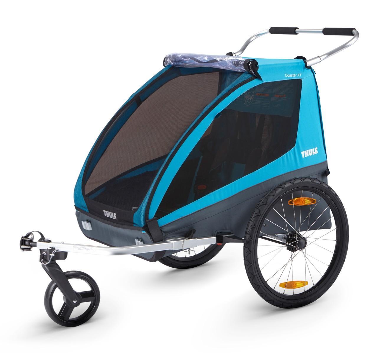 Thule - Coaster 2 XT bike trailer+stroll Blue