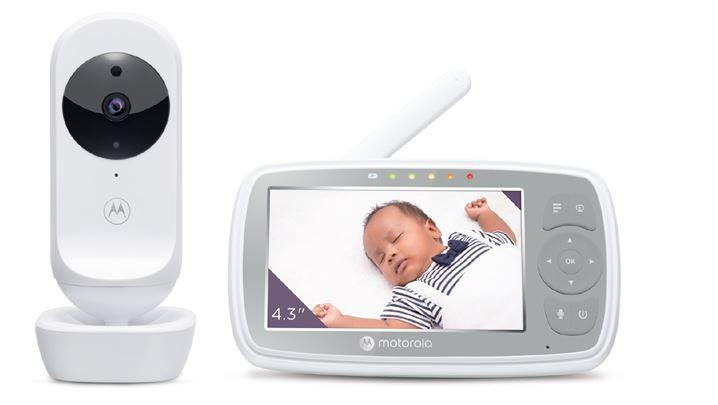 Motorola - Wifi Video Baby Monitor  Hd 4.3 + Digital Zoom