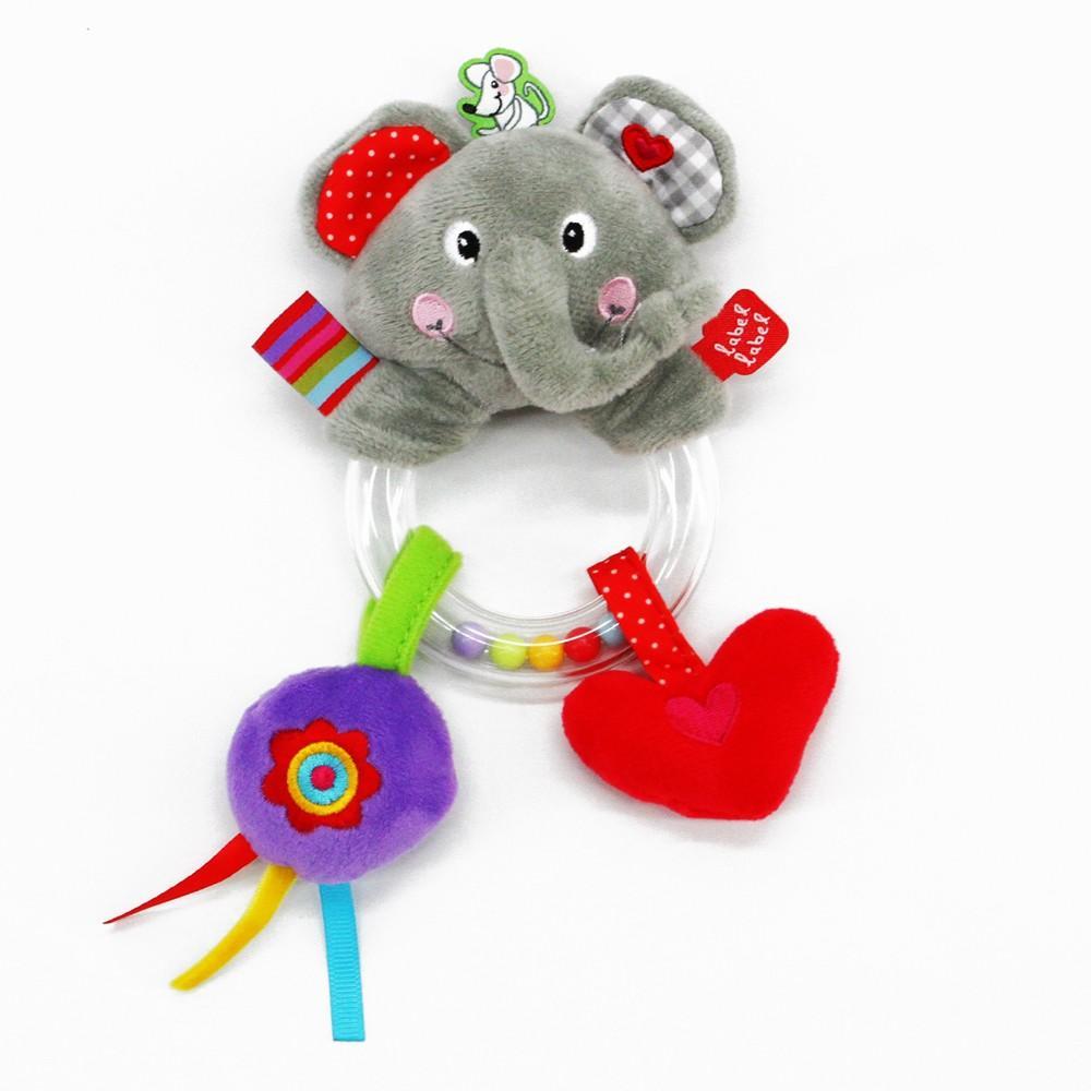 Label-Label - Hand Rattle Elephant