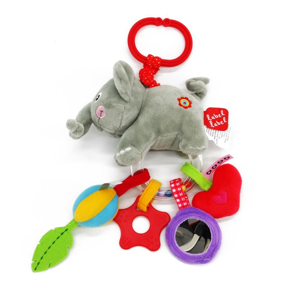 Label-Label - Trembling Toy Elephant