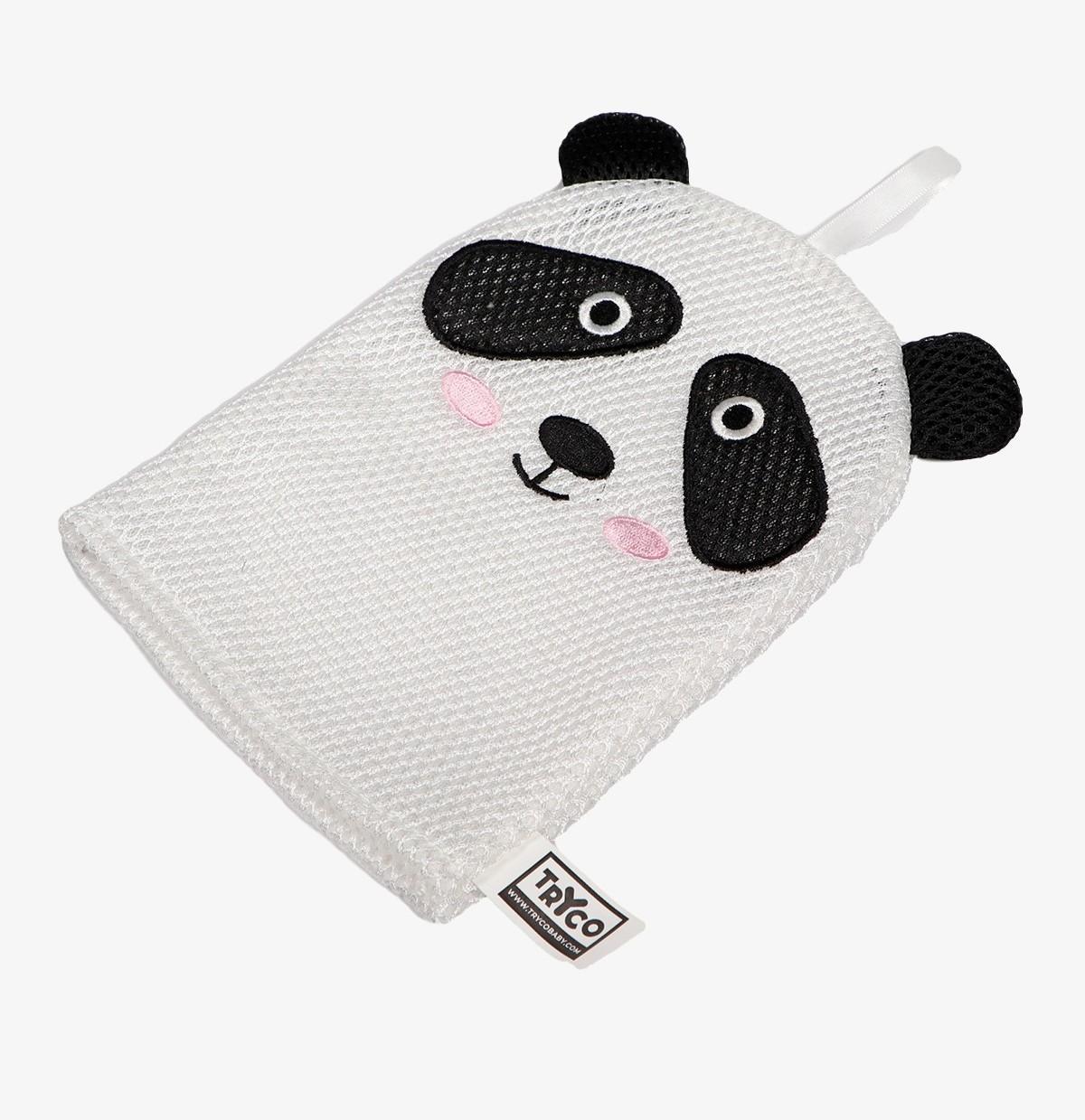 Tryco - Bath Glove - Panda
