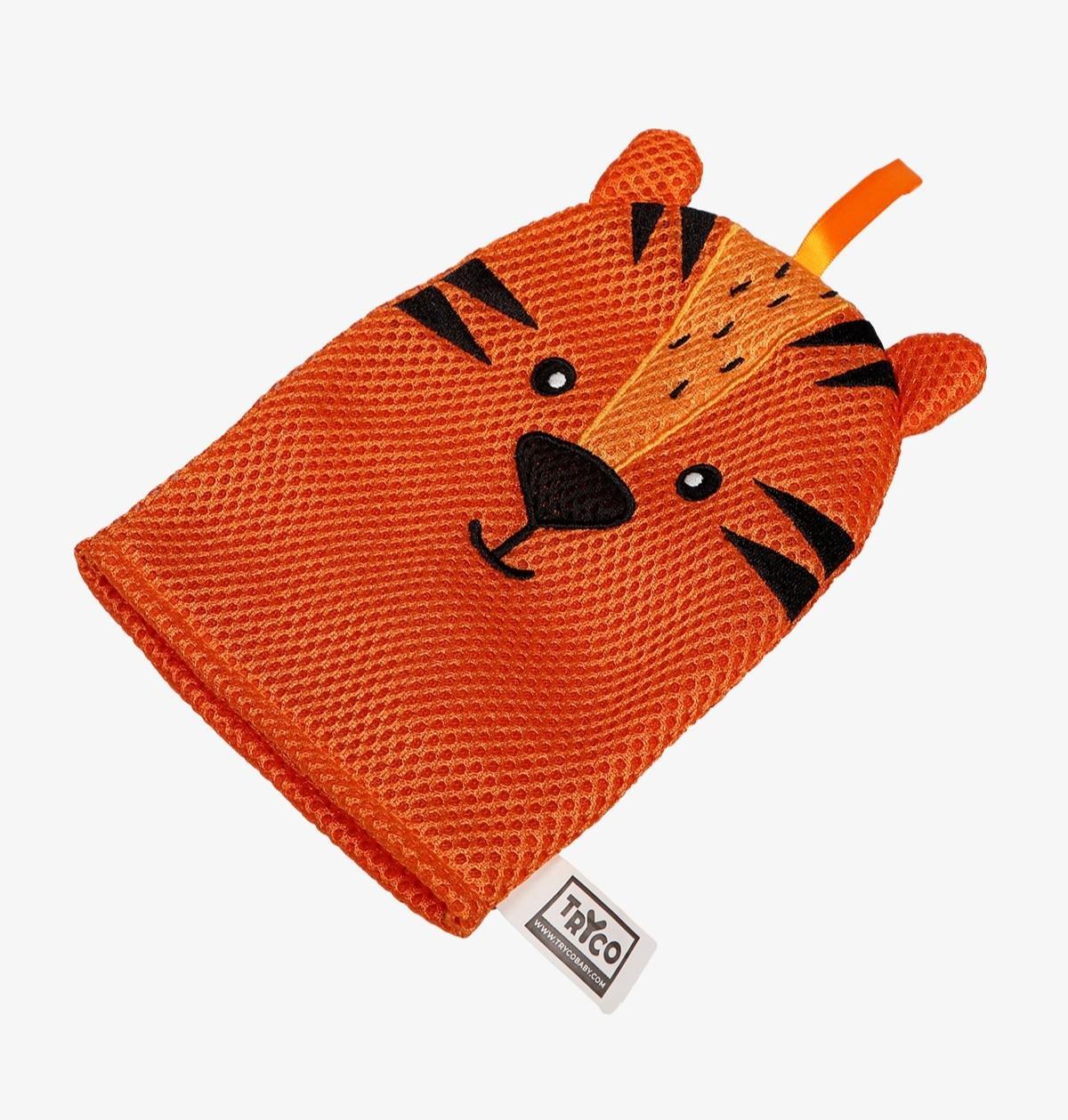 Tryco - Bath Glove - Tiger