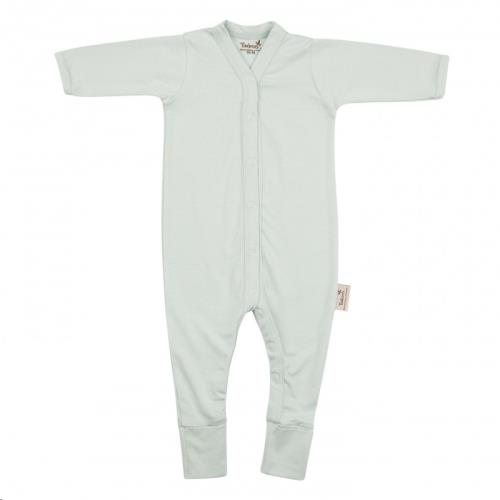 Timboo - Babypakje lange mouwen met voet 50/56 Sea Blue
