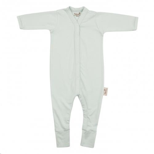 Timboo - Babypakje lange mouwen met voet 86/92 Sea Blue