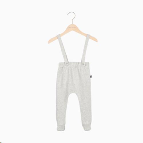 House Of Jamie - Baby Suspender Pants - Stone Hoj-Bsu-206-St-56-62