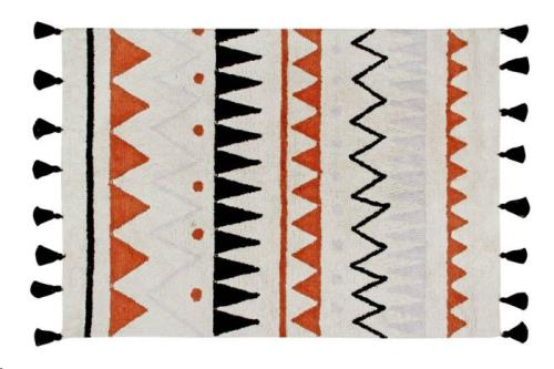 Lorena Canals - Azteca Natural-Terracota Small 120 x 160