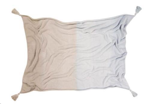 Lorena Canals - Baby Deken Ombre Soft Blue-Grey 100 x 120