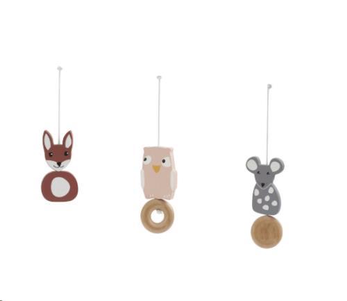 Kids Concept - Babygym houten speelfiguren Edvin