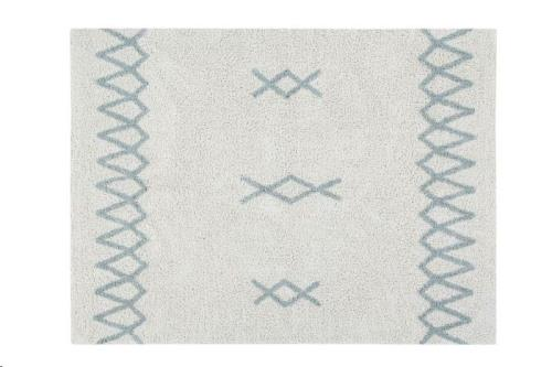 Lorena Canals - Atlas Natural - Vintage Blue 120 x 160