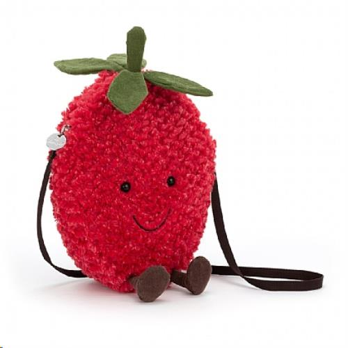Jellycat - Amuseable Strawberry Bag