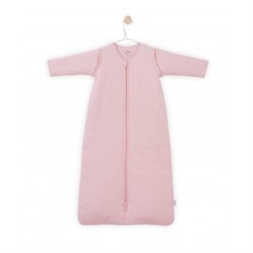 Jollein - Baby slaapzak 110cm Tiny waffle soft pink met afritsbare mouw