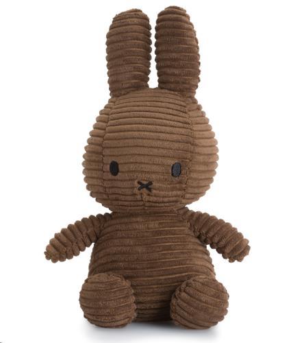 Nijntje - Miffy - Corduroy Brown - 23 cm - 9