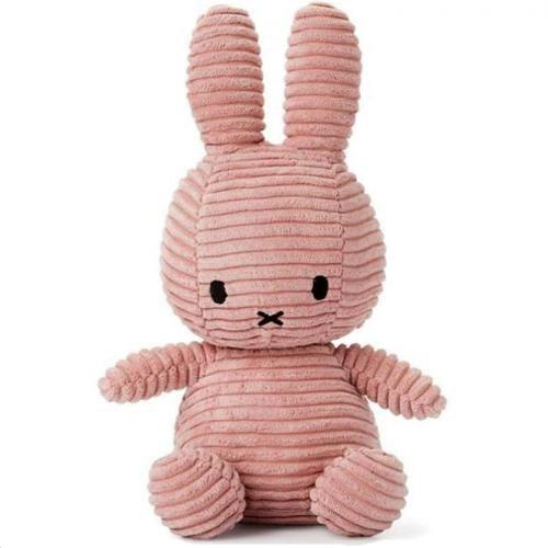 Nijntje - Miffy - Corduroy Dark Pink - 23 cm - 9