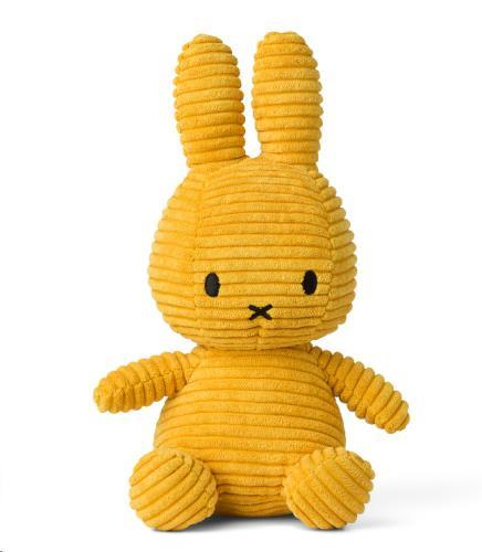 Nijntje - Miffy - Corduroy Yellow - 23 cm - 9