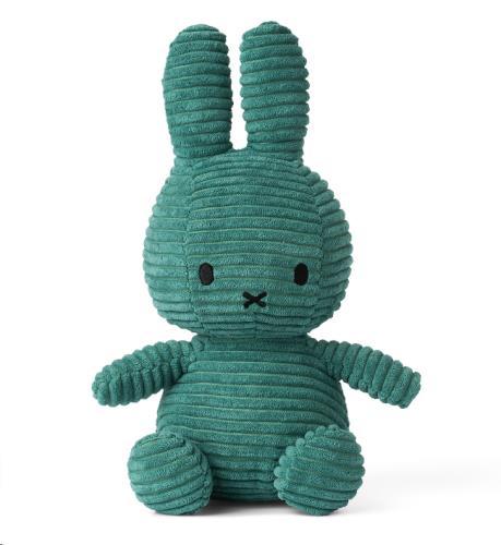 Nijntje - Miffy - Corduroy Green - 23 cm - 9.5