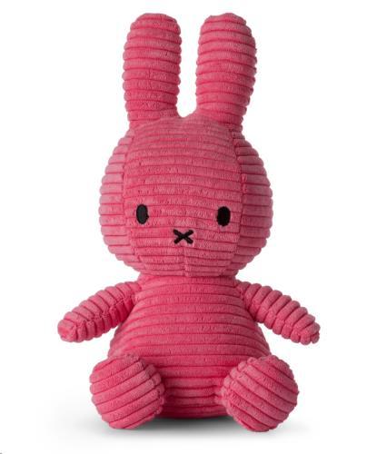 Nijntje - Miffy - Corduroy Bubblegum Pink - 23 cm - 9
