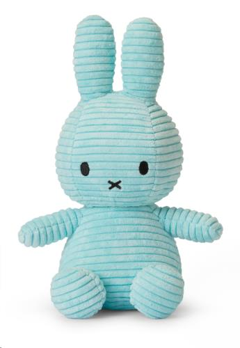 Nijntje - Miffy - Corduroy Turquoise - 23 cm - 9