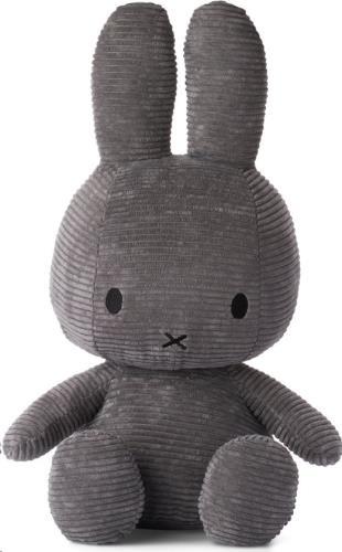 Nijntje - Miffy - Corduroy Dark Grey - 33 cm - 13