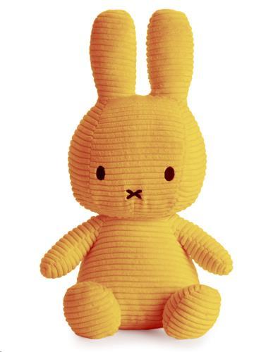 Nijntje - Miffy - Corduroy Yellow - 33 cm - 13