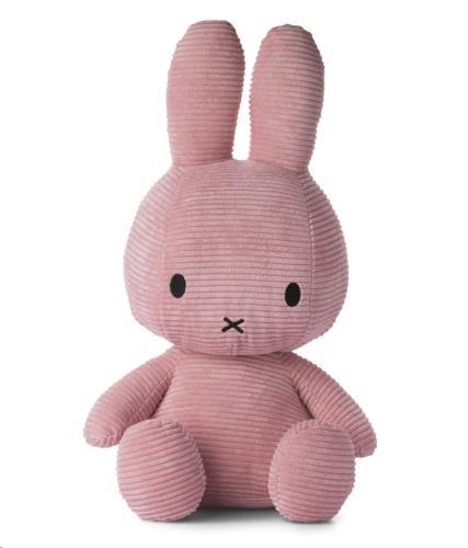 Nijntje - Miffy - Corduroy Dark Pink - 50 cm - 20
