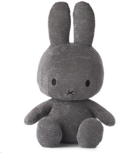 Nijntje - Miffy - Corduroy Dark Grey - 50 cm - 20