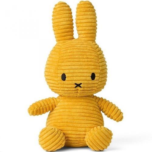 Nijntje - Miffy - Corduroy Yellow - 50 cm - 20