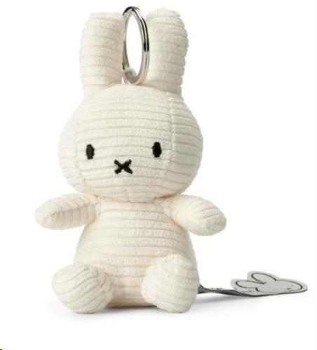 Nijntje - Miffy - Corduroy White Keychain - 10 cm - 4