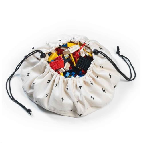 Play & Go - Mini Opbergzak - Speelmat Thunderstrike