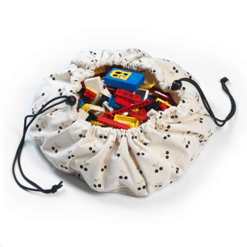 Play & Go - Mini Opbergzak - Speelmat Cherry Gold
