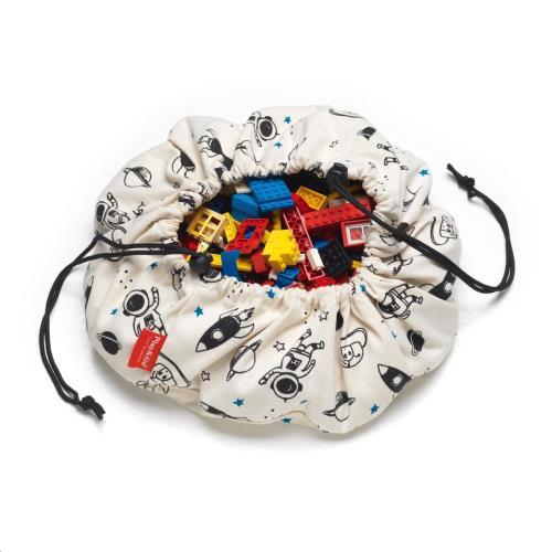 Play & Go - Mini Opbergzak - Speelmat Space