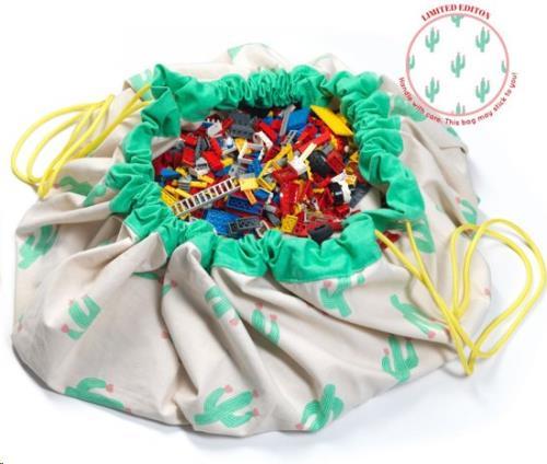 Play & Go - Opbergzak - Speelmat Cactus