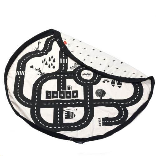 Play & Go - Opbergzak - Speelmat Roadmap/Thunderbolt