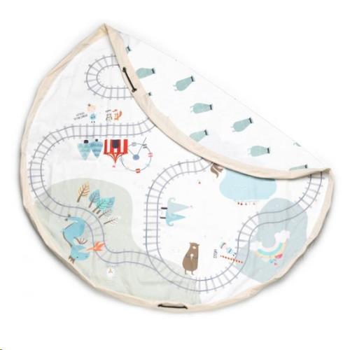 Play & Go - Opbergzak - Speelmat Trainmap/Bears