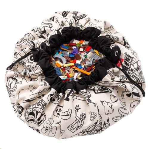 Play & Go - Opbergzak - Speelmat Color My Bag Omy Paris