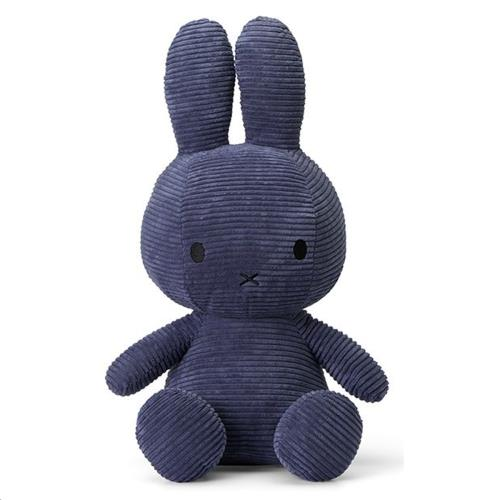 Nijntje - Miffy - Corduroy Blue - 50 cm - 20