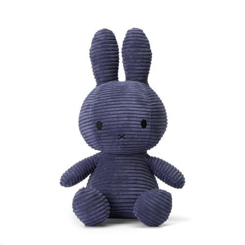 Nijntje - Miffy - Corduroy Blue - 33 cm - 13