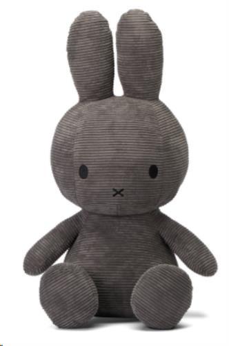 Nijntje - Miffy - Corduroy Grey - 70 cm - 27.5